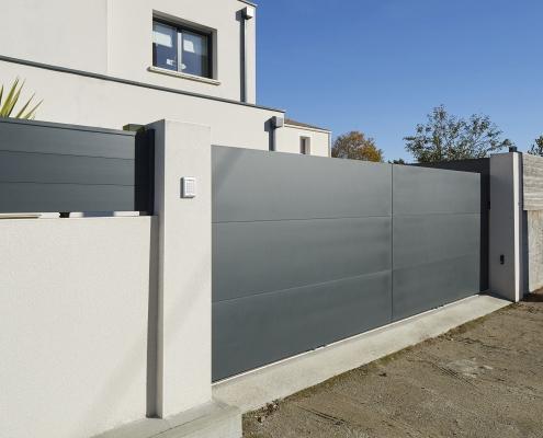 Portail Aluminium - BEL PORTE 40