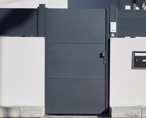Portail Aluminium - BEL PORTE